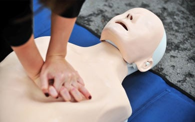 Provide CPR and Conduct LVR