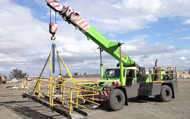RIIHAN212E Conduct non-slewing crane operations | MineSafe
